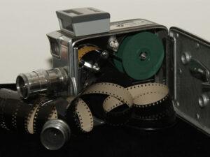 Antique 8mm Movie Film Camera