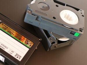 Three Camcorder Video Tapes