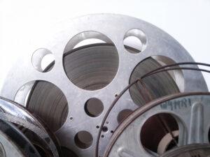 Assortment of 8mm Film Reels for Film Transfer