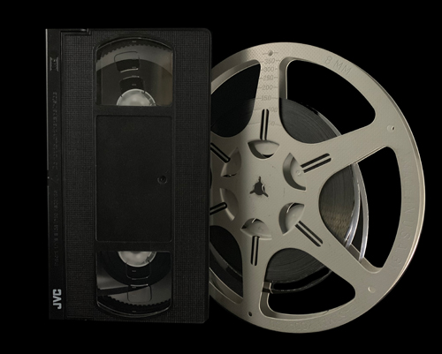 VHS Tape and 8mm Film Reel Equipment Rentals