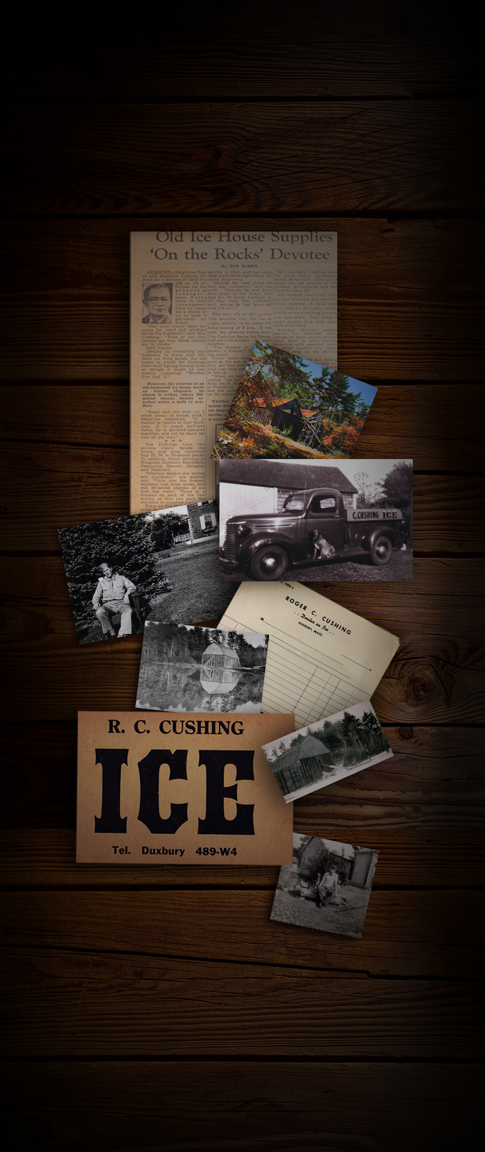 Icehouse Pictures Historical Memorabilia Collection