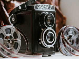 Films to Video from 8mm Film Camera